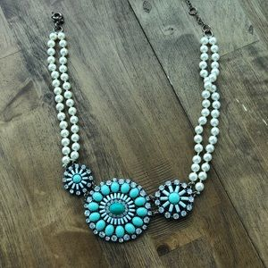 J Crew | Turquoise Statement Necklace